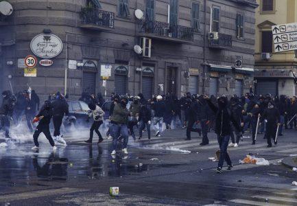 NAPOLI – CORTEO DI PROTESTA MAICONSALVINI