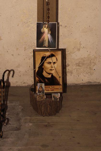Cella di Marie Tuci - Prigione di Shkoder - Scutari - Albania. Questa è la cella dove fu rinchiusa la donna simbolo di quella persecuzione. Aspirante Suora appartenente all