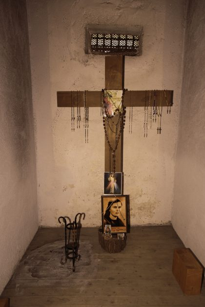 Cella di Marie Tuci - Prigione di Shkoder - Scutari - Albania