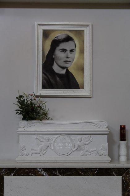 Marie Tuci - Chiesa delle Stimmatine - Scutari - Albania. Maria Tuci, Aspirante Suora appartenente all