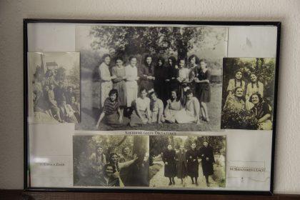 Studentesse classe 1943 della scuola delle suore Stimmatine. Studenti della scuola delle Stimmatine, classe 1943. Nelle foto è presente anche Suor Roza Kraia.