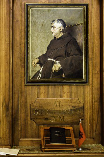 Gjergj Fishta OFM - Biblioteca Francescana - Convento Francescano deil