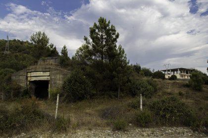 Bunker nei pressi di Scutari - Albania.