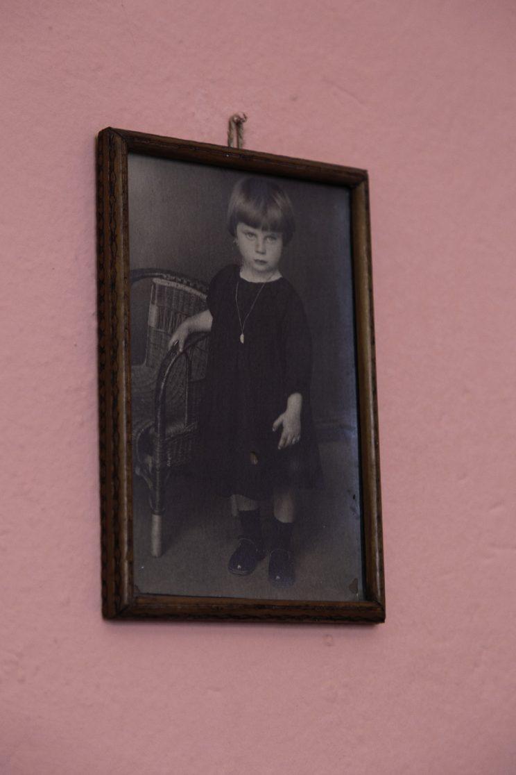Roza Gjini - Nipote del Mons. Fano Gjini - Scutari - Albania. Roza Gjini da piccola.