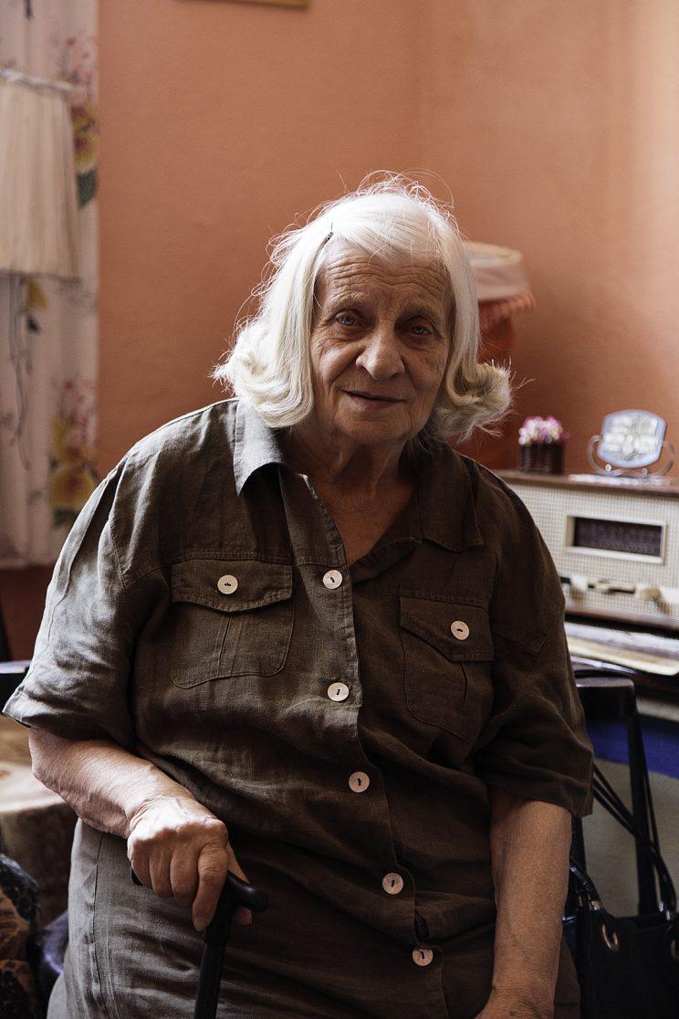 Roza Gjini - Nipote del Mons. Frano Gjini - Scutari - Albania.