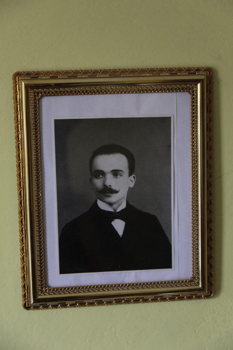 Gjovalin Zezaj - Scutari - Albania. Il papà di Gjovalin.