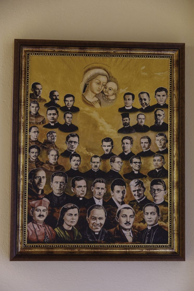 Cappella del seminario di Scutari - Albania. I Martiri del Regime.