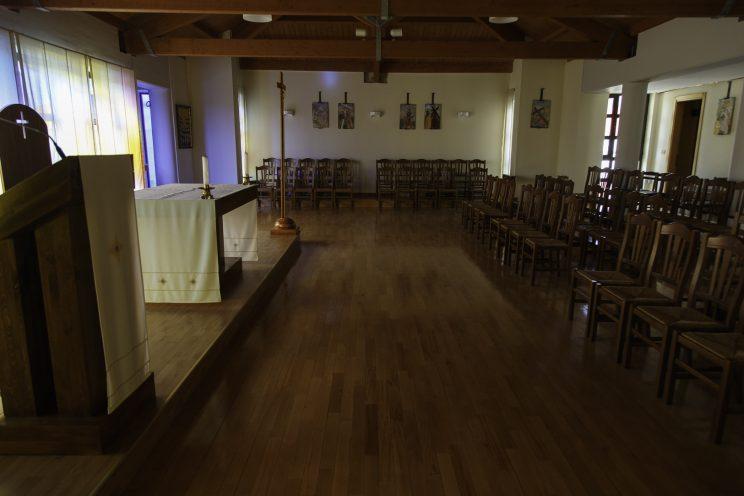 Cappella del seminario di Scutari - Albania.