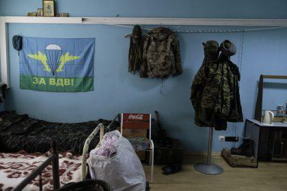 Base Operativa del Battaglione Patriot - Donetsk - Repubblica Popolare di Donetsk (Ex Ucraina - Donbass) - 2018. Una stanza della Caserma.