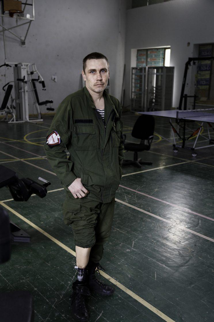 Alexandr Gaiduk - Base Operativa del Battaglione Patriot - Donetsk - Repubblica Popolare di Donetsk (Ex Ucraina - Donbass) - 2018.