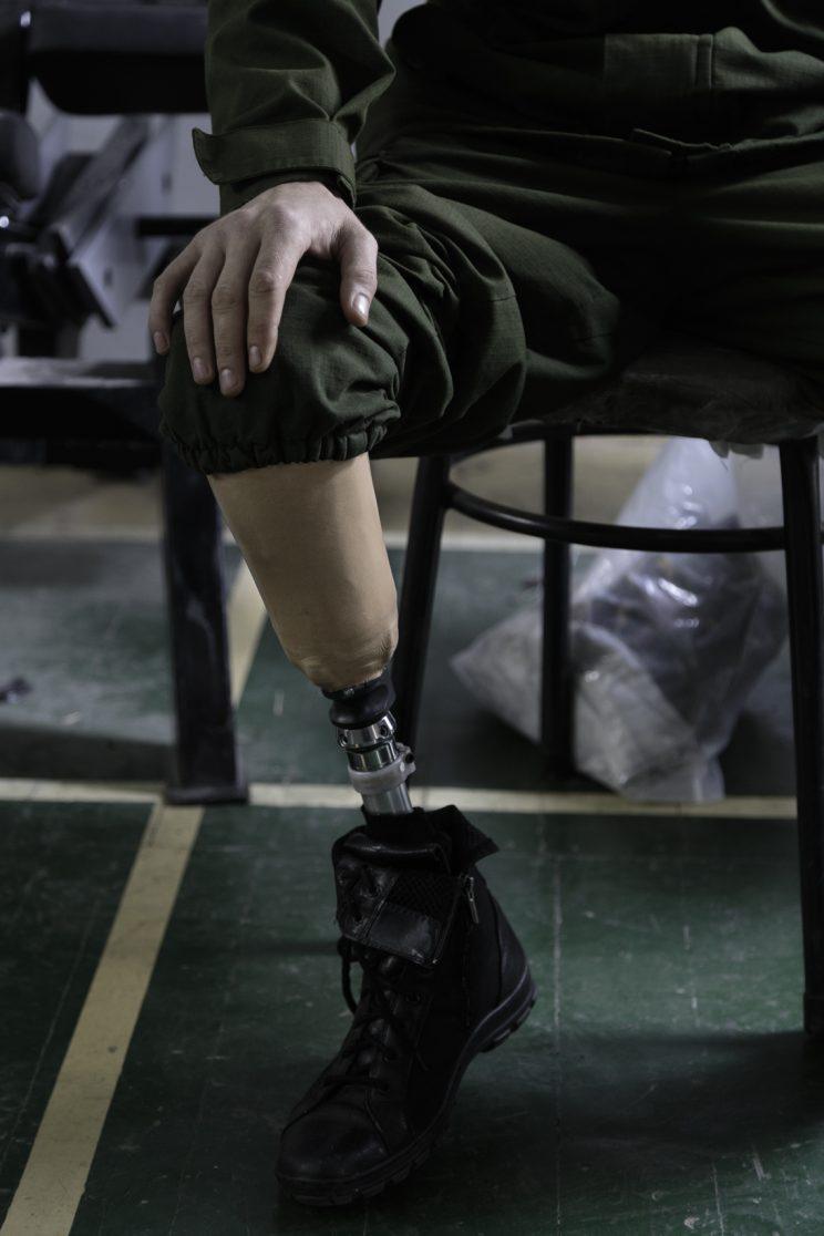 Alexandr Gaiduk - Base Operativa del Battaglione Patriot - Donetsk - Repubblica Popolare di Donetsk - 2018.