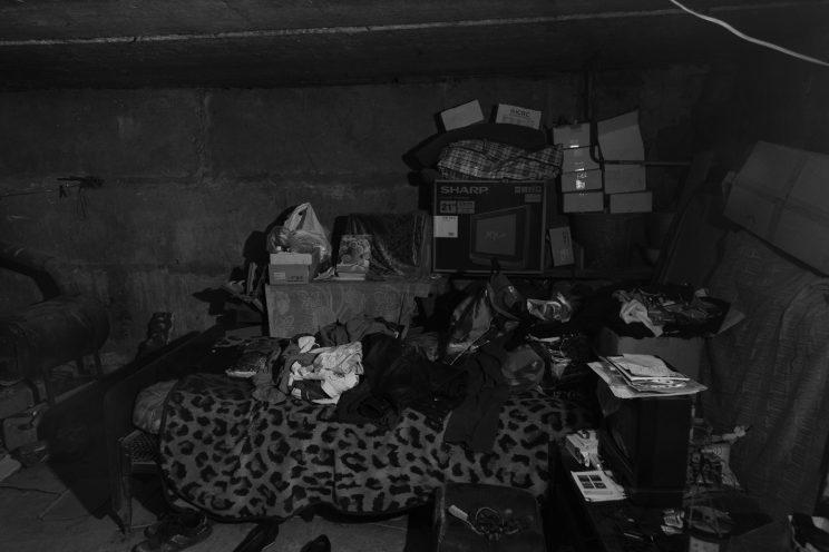 Seminterrato della famiglia di Marina - Spartak - Repubblica Popolare di Donetsk - 2018.