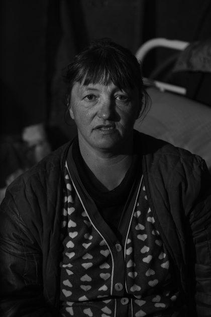 Svetlana - Seminterrato della famiglia di Marina - Spartak - Repubblica Popolare di Donetsk - 2018.