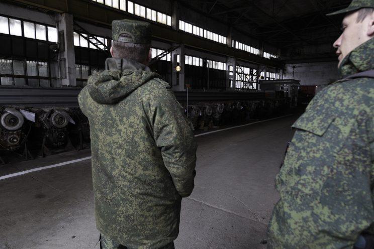 Base Riparazioni - Donetsk - Repubblica Popolare di Donetsk - 2018.