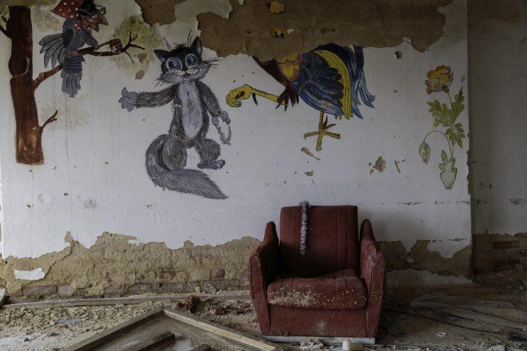 L'Asilo di Stepanivka - Repubblica Popolare di Donetsk (Ex Ucraina - Donbass) - 2018.