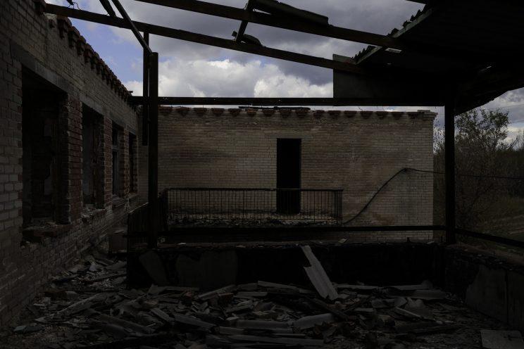 L'Asilo di Stepanivka - Repubblica Popolare di Donetsk (Ex Ucraina - Donbass) - 2018. Secondo piano.