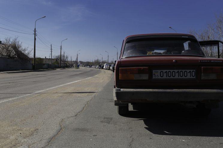 Checkpoints - Olenivka - Repubblica Popolare di Donetsk (Ex Ucraina - Donbass) - 2018.